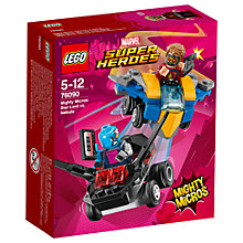 Buy LEGO Marvel Super Heroes 76090 Nebula Vs Star-Lord Online at johnlewis.com