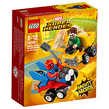 Buy LEGO Marvel Super Heroes 76089 Scarlet Spider Vs Sandman Online at johnlewis.com