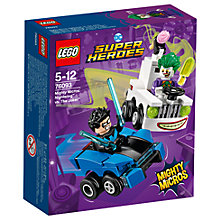 Buy LEGO DC Super Heroes 76093 Nightwing Vs The Joker Online at johnlewis.com