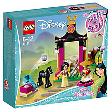 Buy LEGO Disney Princess 41151 Mulan's Training Day Online at johnlewis.com