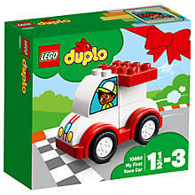Buy LEGO DUPLO 10860 My First Race Car Online at johnlewis.com