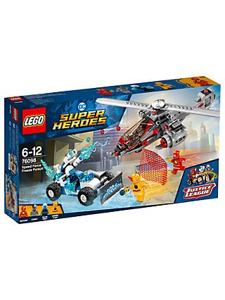 LEGO DC Super Heroes 76098 Speed Force Freeze Pursuit