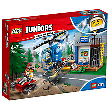 Buy LEGO Juniors 10751 Mountain Police Chase Online at johnlewis.com