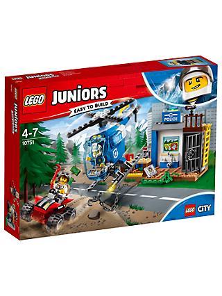 LEGO Juniors 10751 Mountain Police Chase Helicopter
