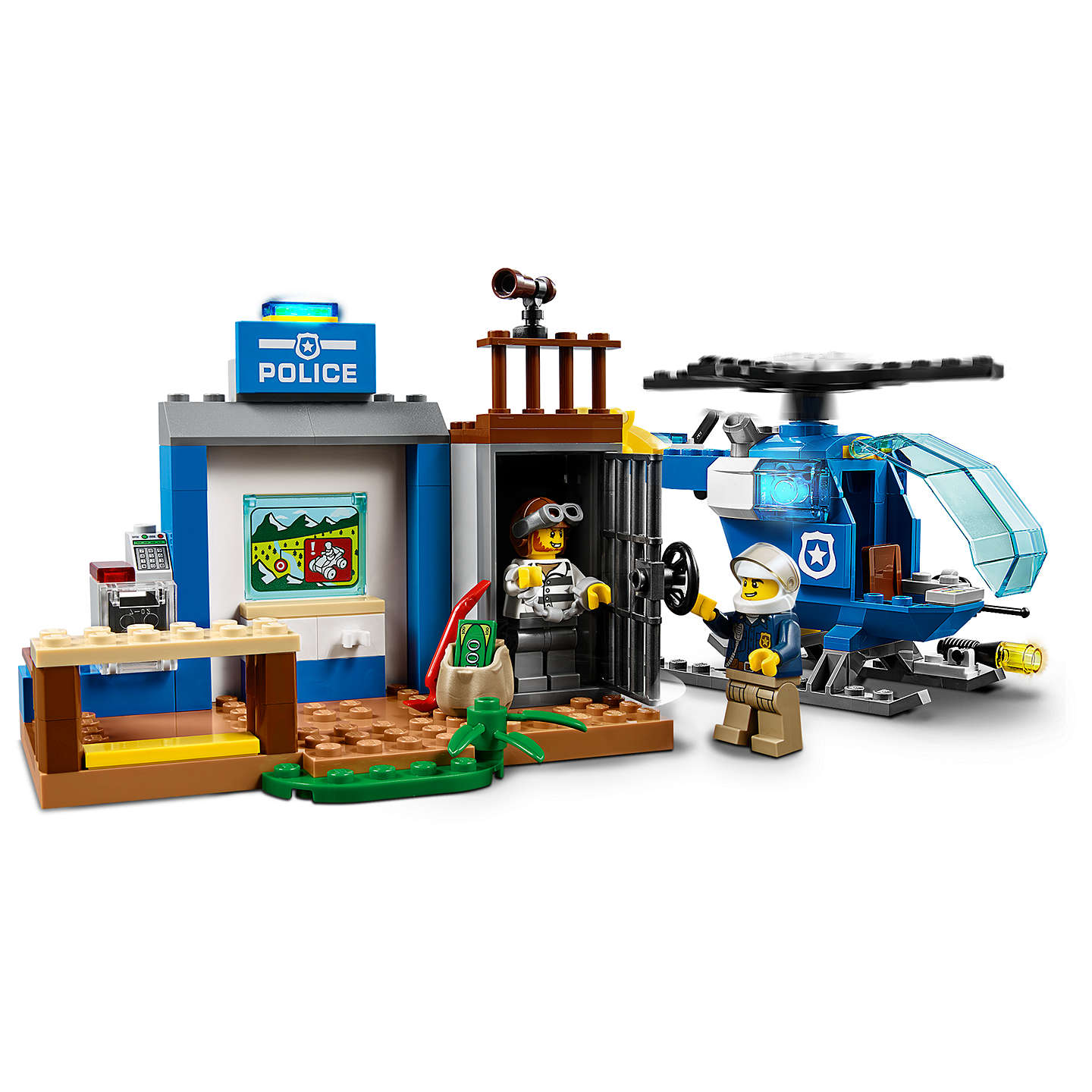lego juniors 10751 mountain police chase at john lewis. Black Bedroom Furniture Sets. Home Design Ideas