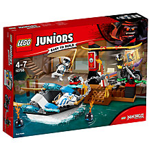 Buy LEGO Juniors 10755 Ninjango Zane's Ninja Boat Pursuit Online at johnlewis.com