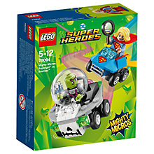 Buy LEGO DC Super Heroes 76094 Supergirl Vs Brainiac Online at johnlewis.com