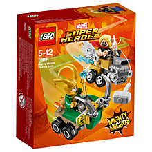 Buy LEGO Marvel Super Heroes 76091 Thor Vs Loki Online at johnlewis.com