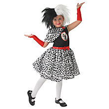 Buy 101 Dalmatians Cruella de Vil Children's Costume Online at johnlewis.com