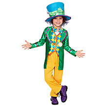 Buy Alice in Wonderland Mad Hatter Children's Costume Online at johnlewis.com