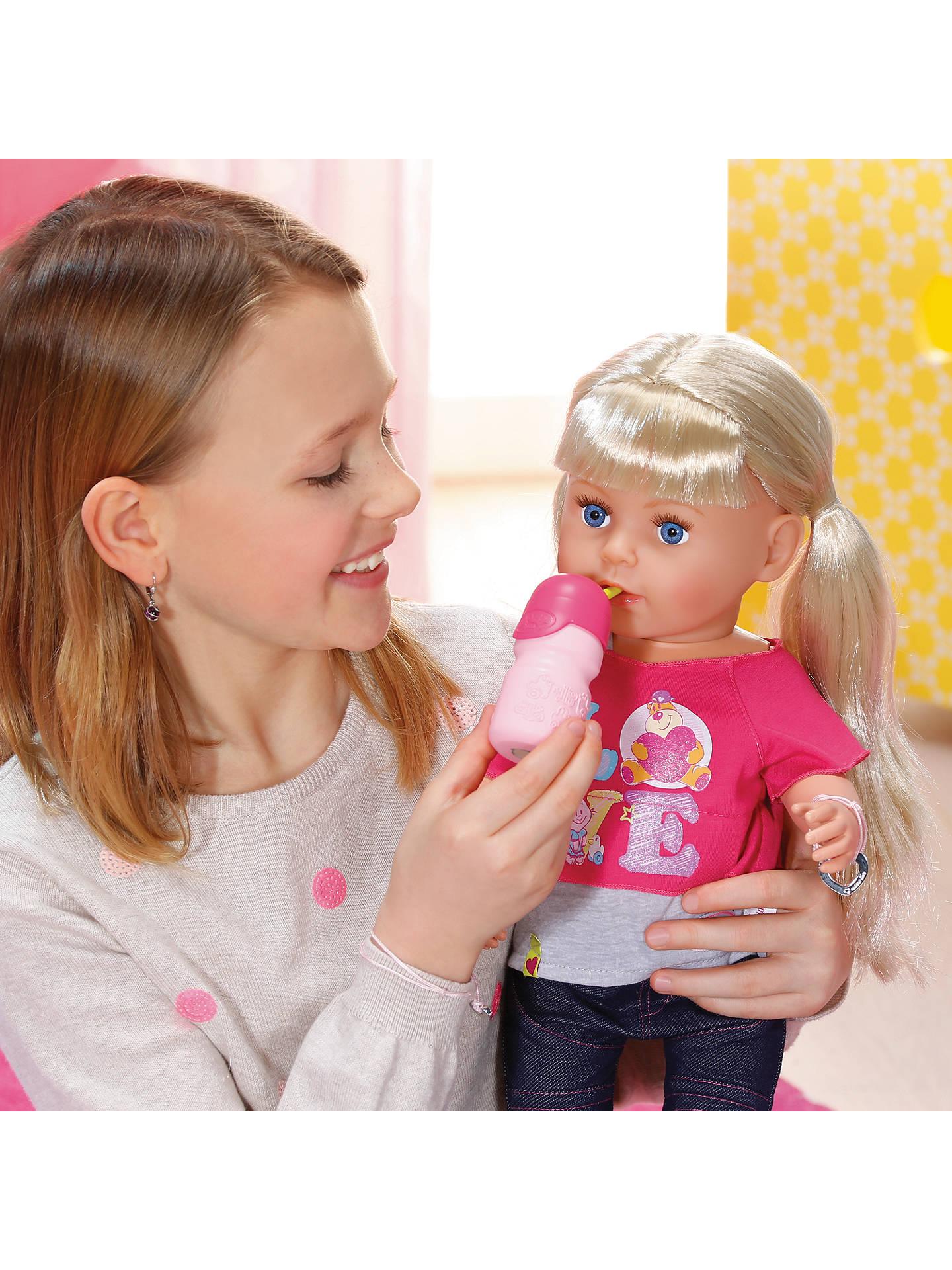 Zapf Baby Born Sister Doll At John Lewis Amp Partners