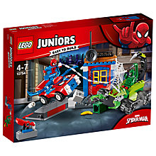 Buy LEGO Juniors 10754 Marvel Spider-man Vs Scorpion Street Showdown Online at johnlewis.com