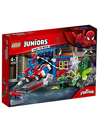 LEGO Juniors 10754 Marvel Spider-man Vs Scorpion Street Showdown