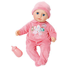 Buy My First Baby Annabell Sleeping Eyes Doll Online at johnlewis.com