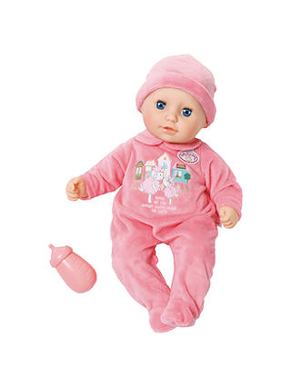 My First Baby Annabell Sleeping Eyes Doll at John Lewis ...