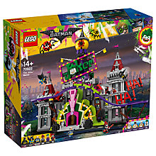 Buy LEGO The LEGO Batman Movie 70922 The Joker Manor Online at johnlewis.com