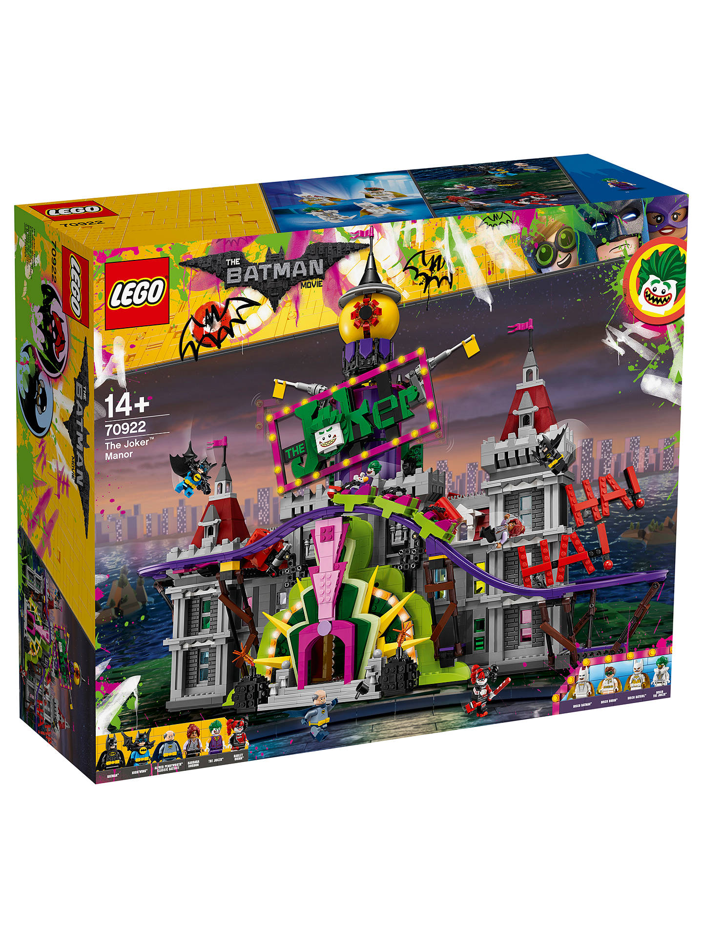 Lego the lego batman movie 70922 the joker manor at john lewis buylego the lego batman movie 70922 the joker manor online at johnlewis ccuart Image collections