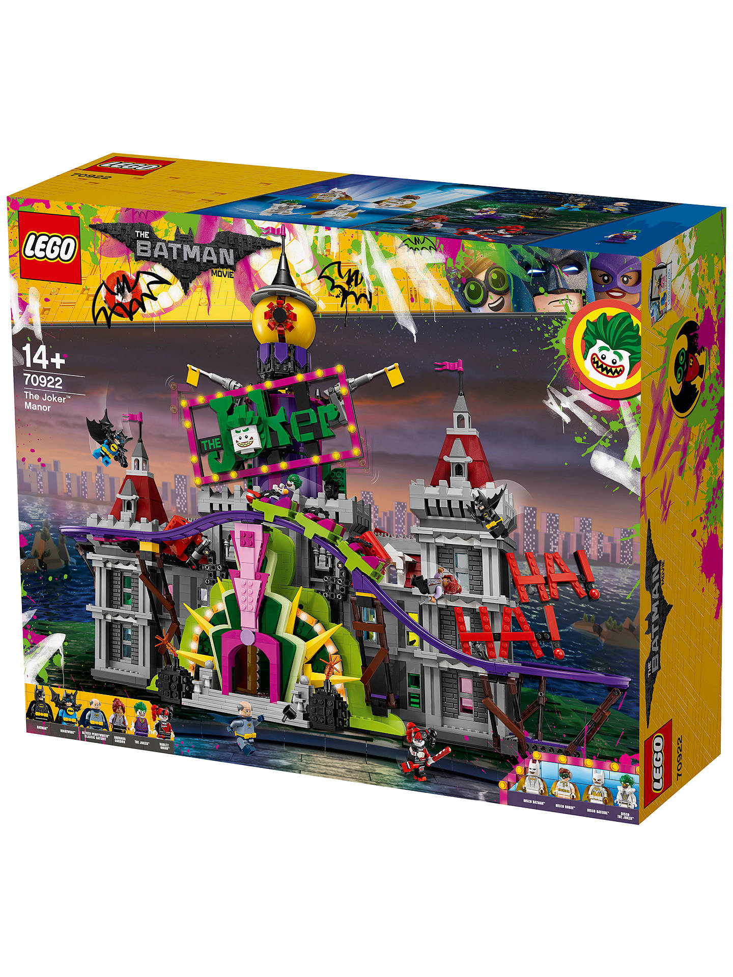 e394a1e2d934 ... Buy LEGO The LEGO Batman Movie 70922 The Joker Manor Online at  johnlewis.com ...