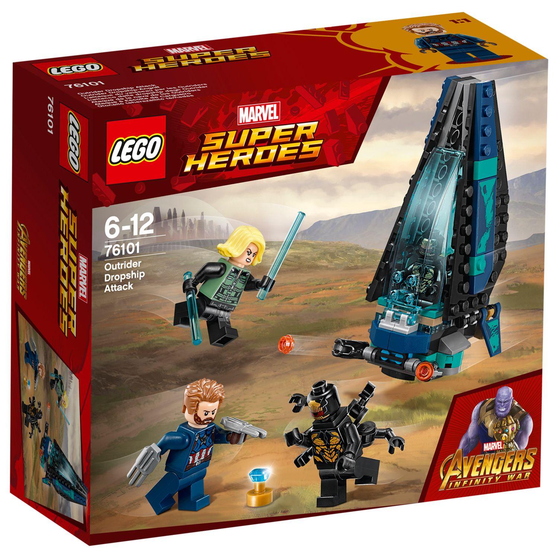 LEGO Black Widow Minifigure Avengers Marvel 76101 Infinity War Variant
