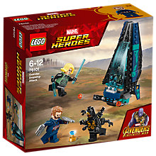 Buy LEGO Marvel Super Heroes 76101 Avengers Outrider Dropship Attack Online at johnlewis.com