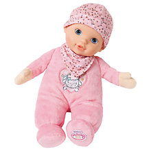 Buy Zapf Baby Annabell Newborn Heartbeat 30cm Baby Doll Online at johnlewis.com