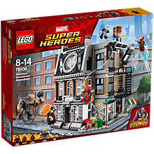Buy LEGO Marvel Super Heroes 76108 Avengers Sanctum Sanctorum Showdown Online at johnlewis.com