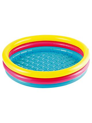 Summer Waves Inflatable Multi-Coloured Pool