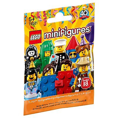 Image of LEGO Minifigures Series 18 Mystery Bag, Assorted