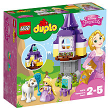 Buy LEGO DUPLO 10878 Disney Princess Rapunzel's Tower Online at johnlewis.com