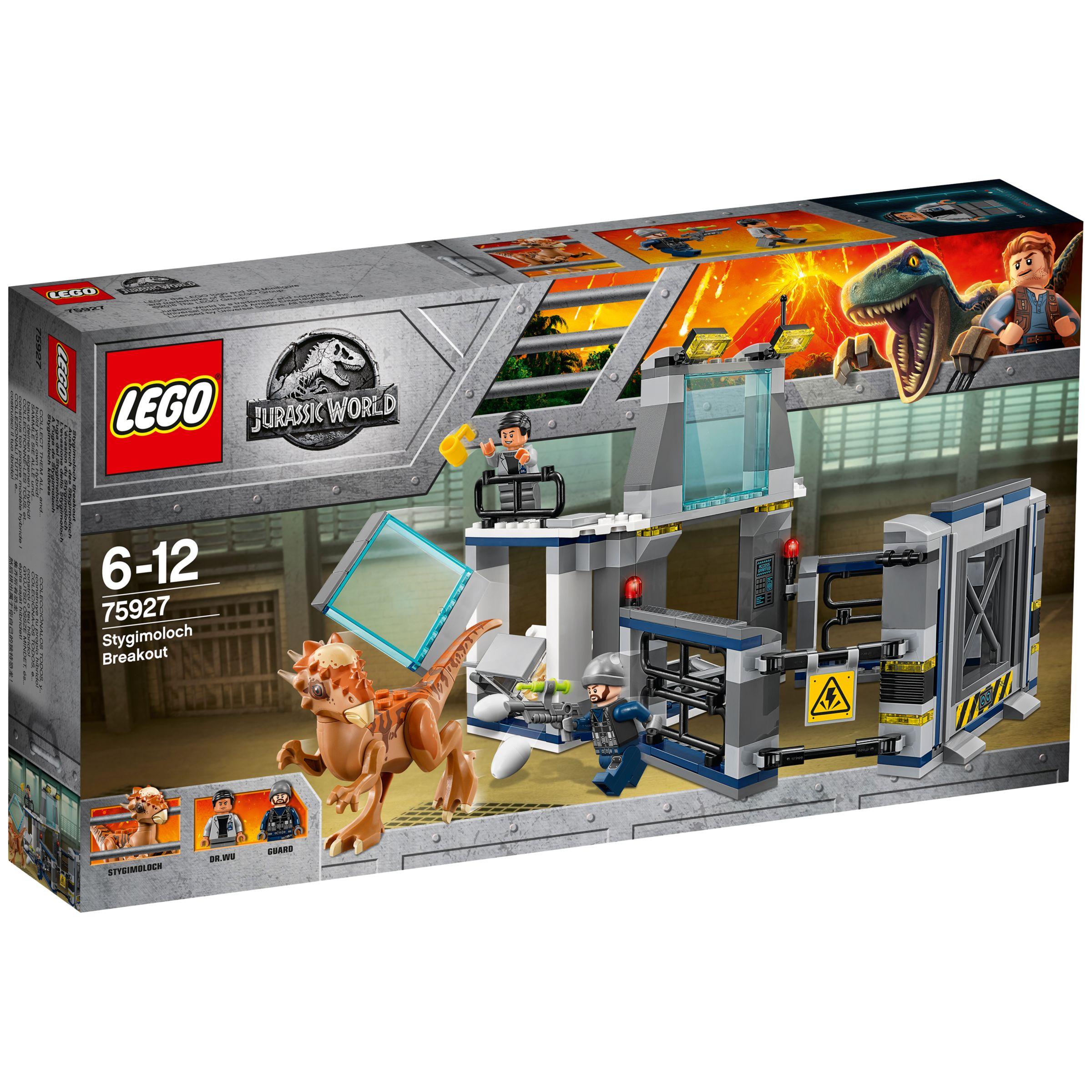 LEGO Juniors 75927 Jurassic World Stygimoloch Breakout