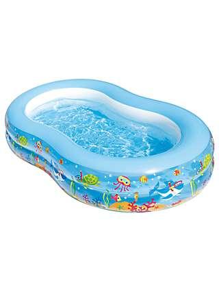 Summer Waves Aquarium Inflatable Family Pool