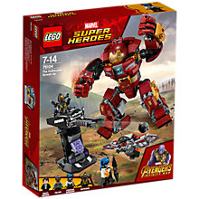 Buy LEGO Marvel Super Heroes 76104 Avengers The Hulkbuster Smash Up Online at johnlewis.com