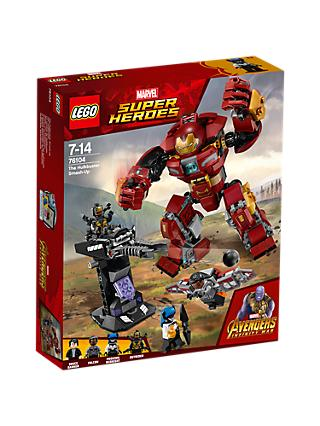 LEGO Marvel Super Heroes 76104 Avengers The Hulkbuster Smash Up