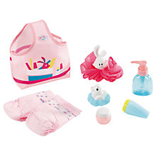 Buy Zapf Born Baby Bathtime Wash and Go Set Online at johnlewis.com