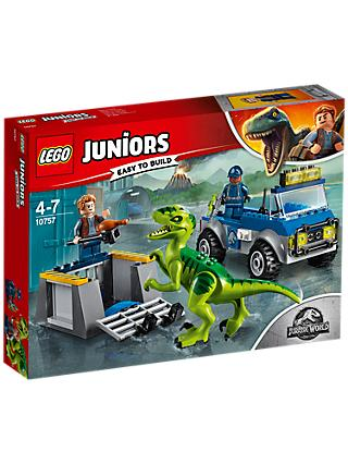 LEGO Juniors 10757 Jurassic World Raptor Rescue Truck