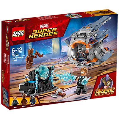 Image of LEGO Marvel Super Heroes 76102 Avengers Thor's Weapon Quest
