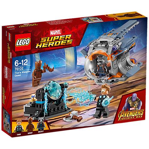 Buy LEGO Marvel Super Heroes 76102 Avengers Thor's Weapon