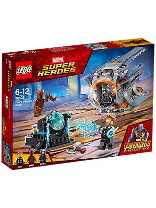 LEGO Marvel Super Heroes 76102 Avengers Thor's Weapon Quest