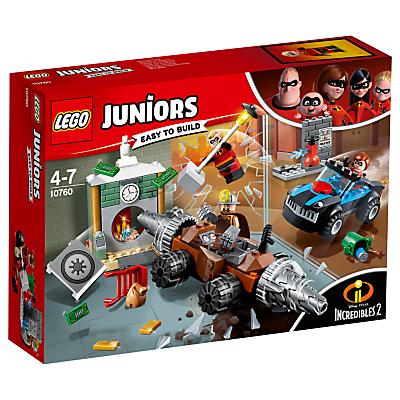 LEGO Juniors 10759 Incredibles 2 Underminer Bank Heist