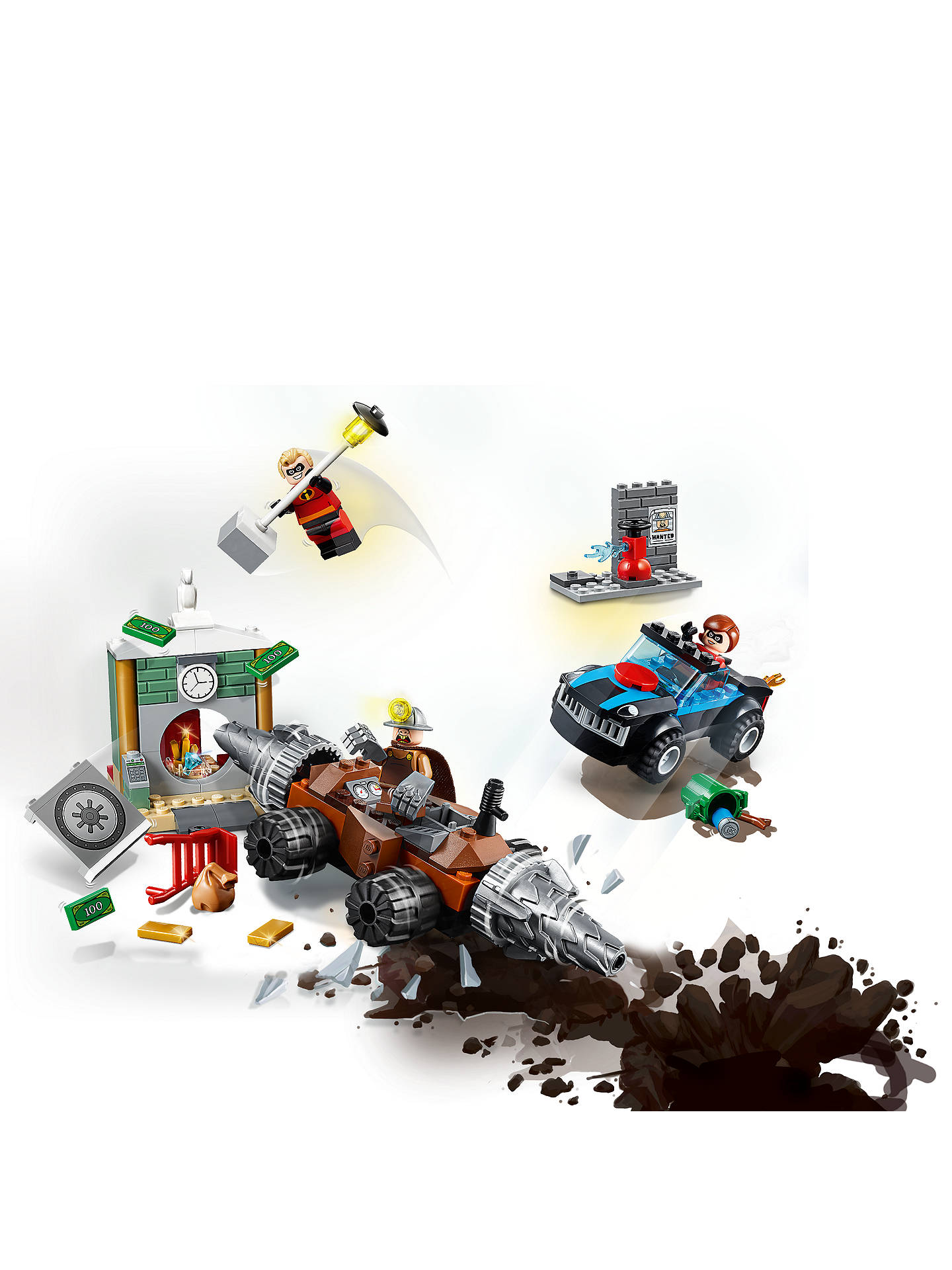 Buy LEGO Juniors 10760 Incredibles 2 Underminer Bank Heist Online at johnlewis.com