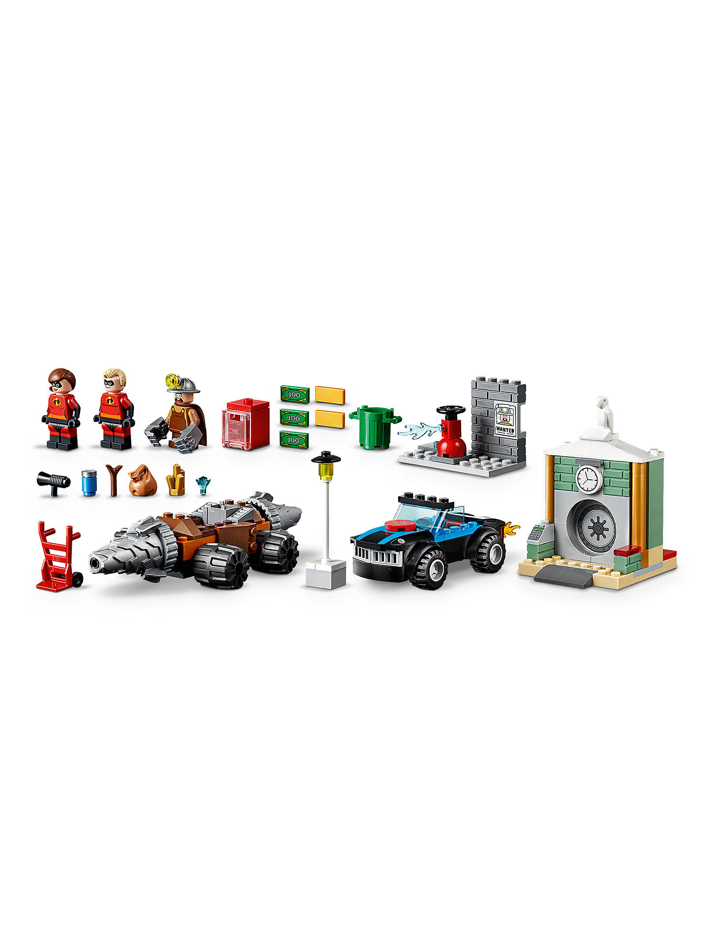 LEGO Juniors 10760 Incredibles 2 Underminer Bank Heist