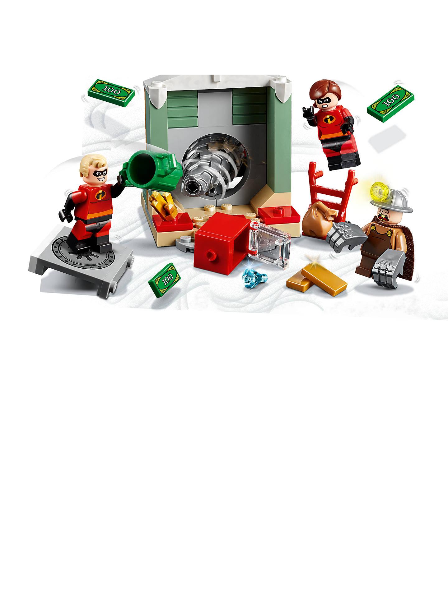 LEGO Juniors 10760 Incredibles 2 Underminer Bank Heist