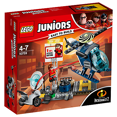 LEGO Juniors 10759 Incredibles 2 Elastigirl's Rooftop Pursuit