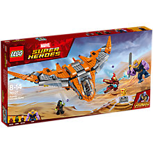 Buy LEGO Marvel Super Heroes 76107 Avengers Thanos Ultimate Battle Set Online at johnlewis.com