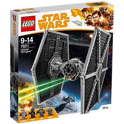 Image of LEGO Star Wars Solo: A Star Wars Story 75211 Imperial TIE Fighter