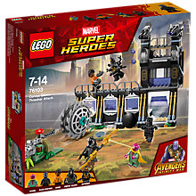 Buy LEGO Marvel Super Heroes 76103 Avengers Corvus Glaive Thresher Attack Online at johnlewis.com