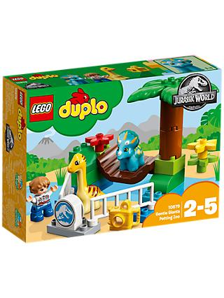 LEGO DUPLO 10879 Jurassic World Gentle Giants Petting Zoo