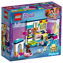 Buy LEGO Friends 41328 Stephanie's Bedroom Online at johnlewis.com
