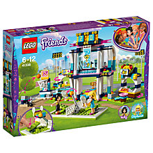 Buy LEGO Friends 41338 Stephanie Sports Arena Online at johnlewis.com