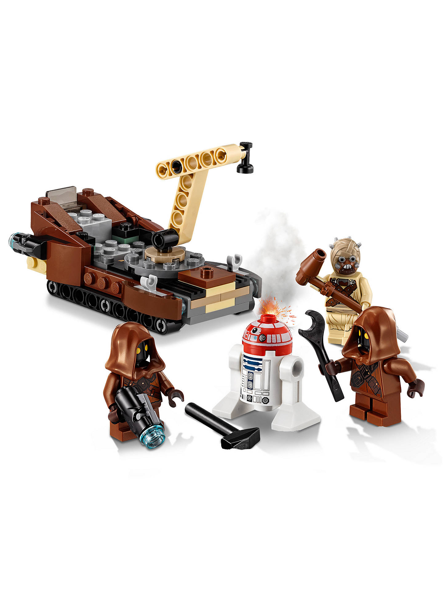 New Release For 2018! 75198 LEGO Star Wars Tatooine Battle Pack 97 Pieces Age 6